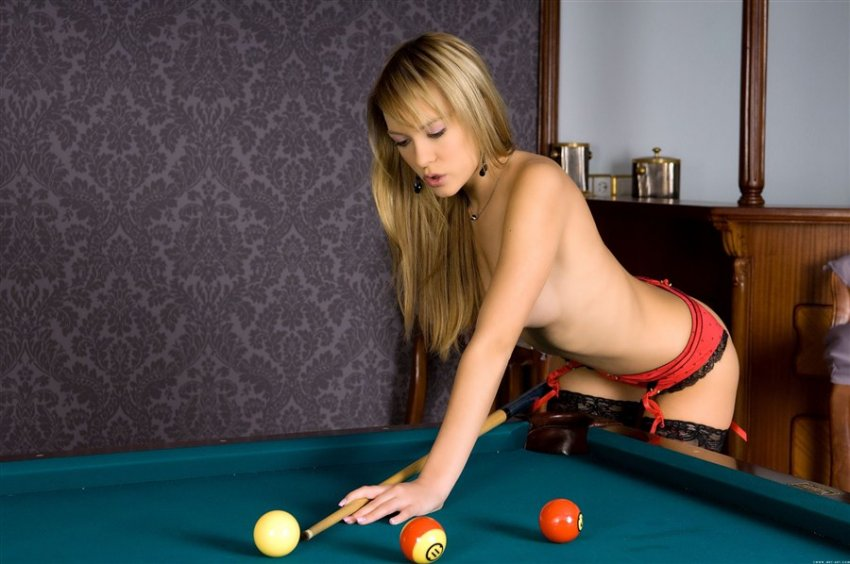 Hot Sexy Beauty Sophie Moone Posing On Billiard Table My Porns Photo 1