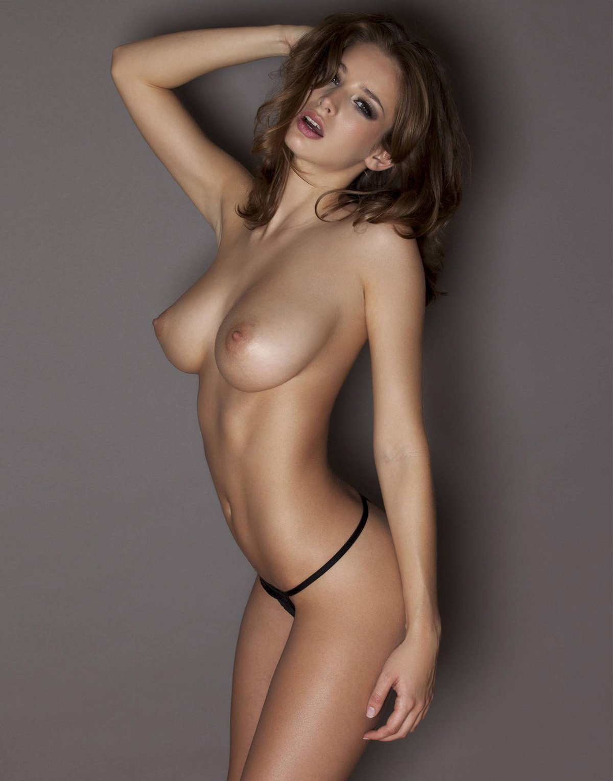 Perfect tits topless