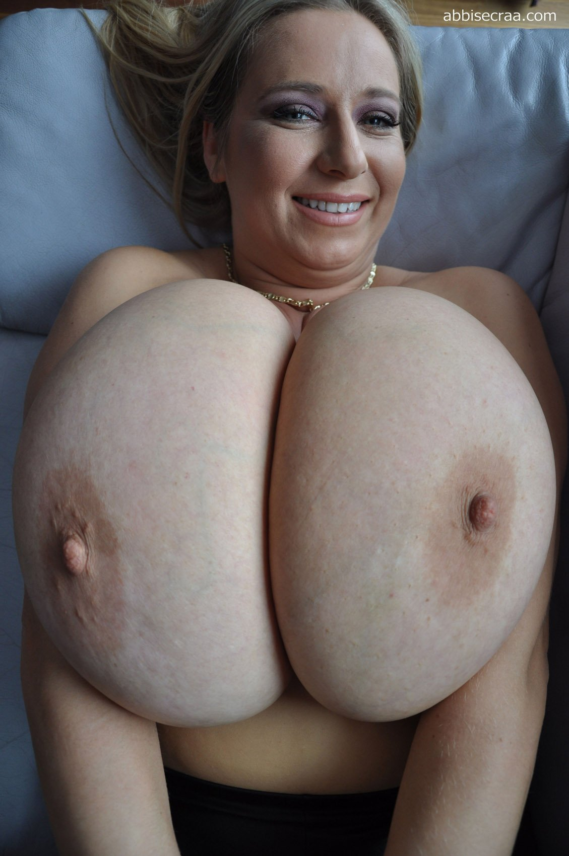Naked humongous boobs