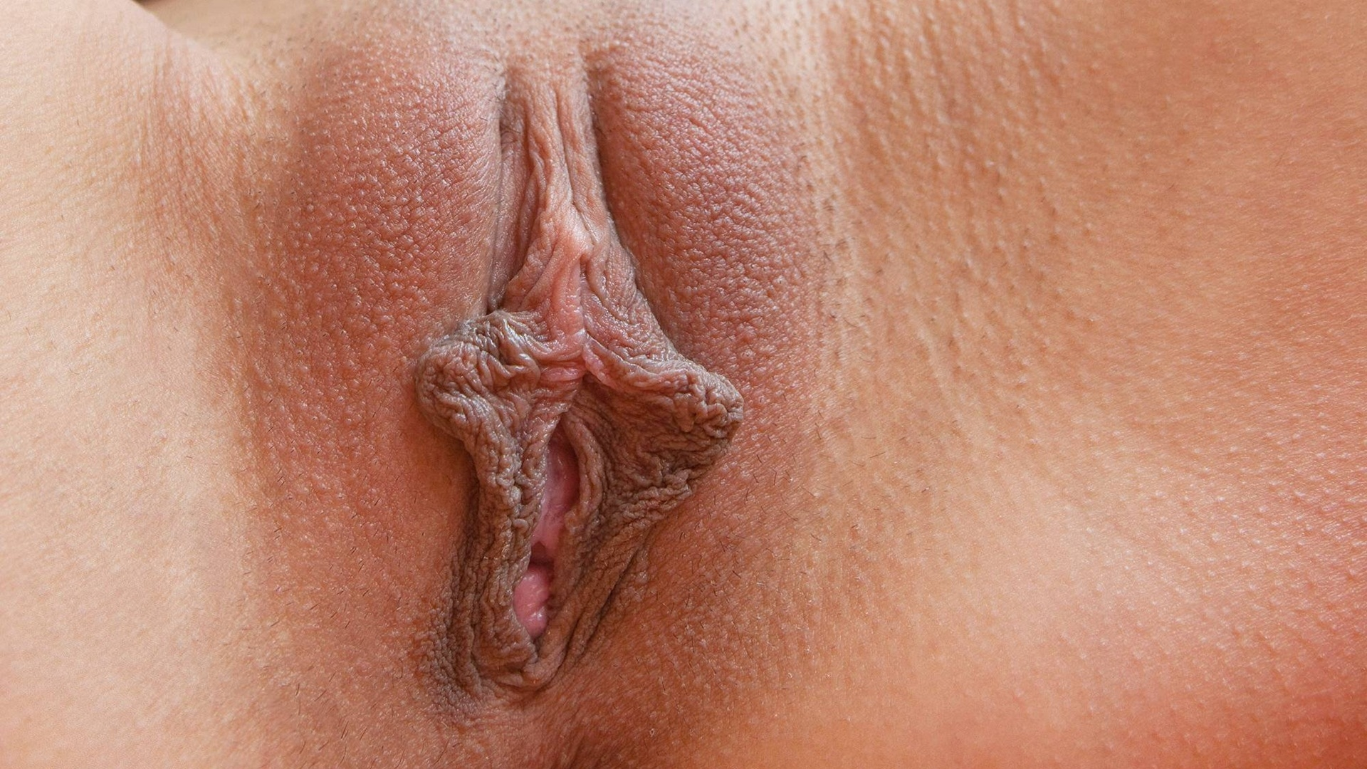 Naked pussy extreme close up