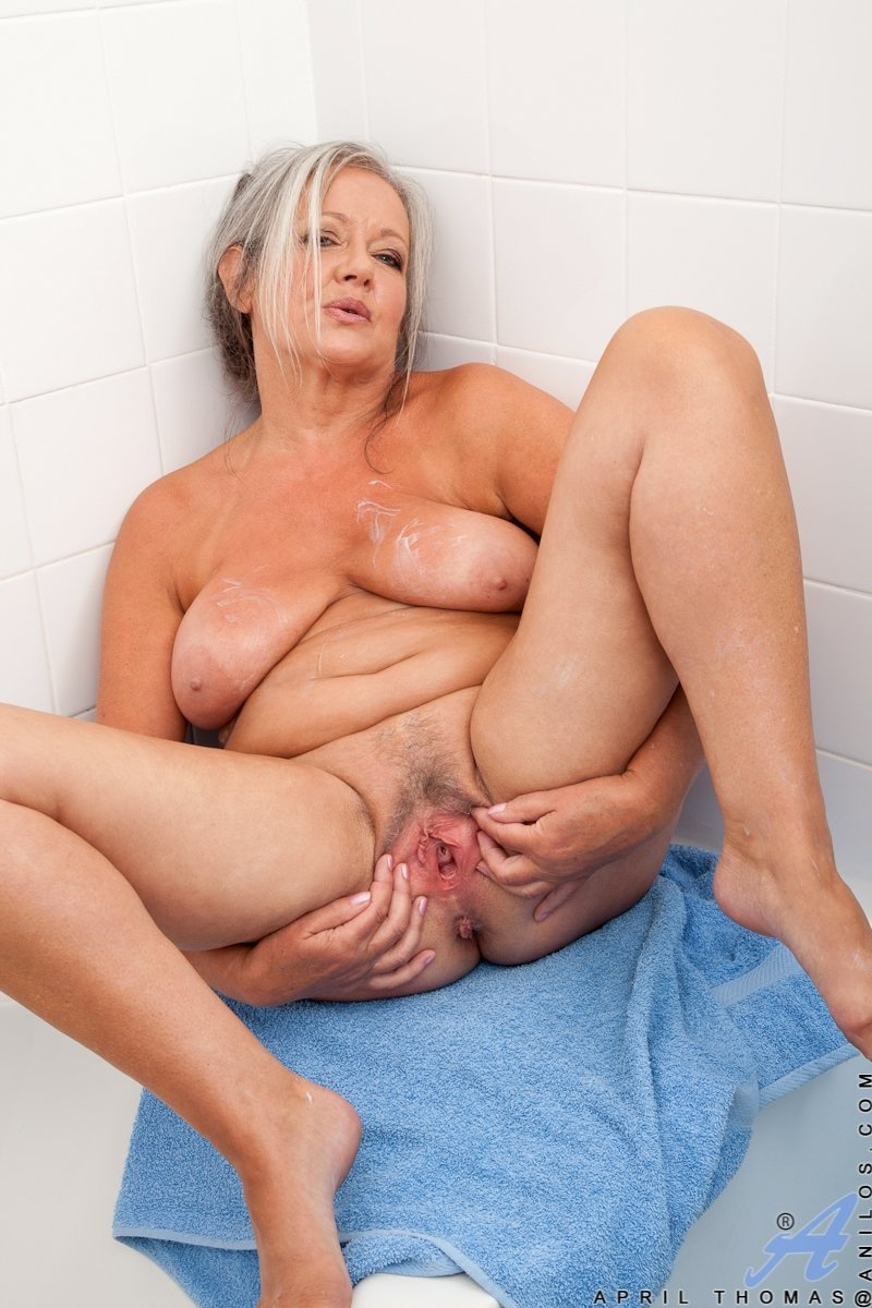 Pink mature pussy