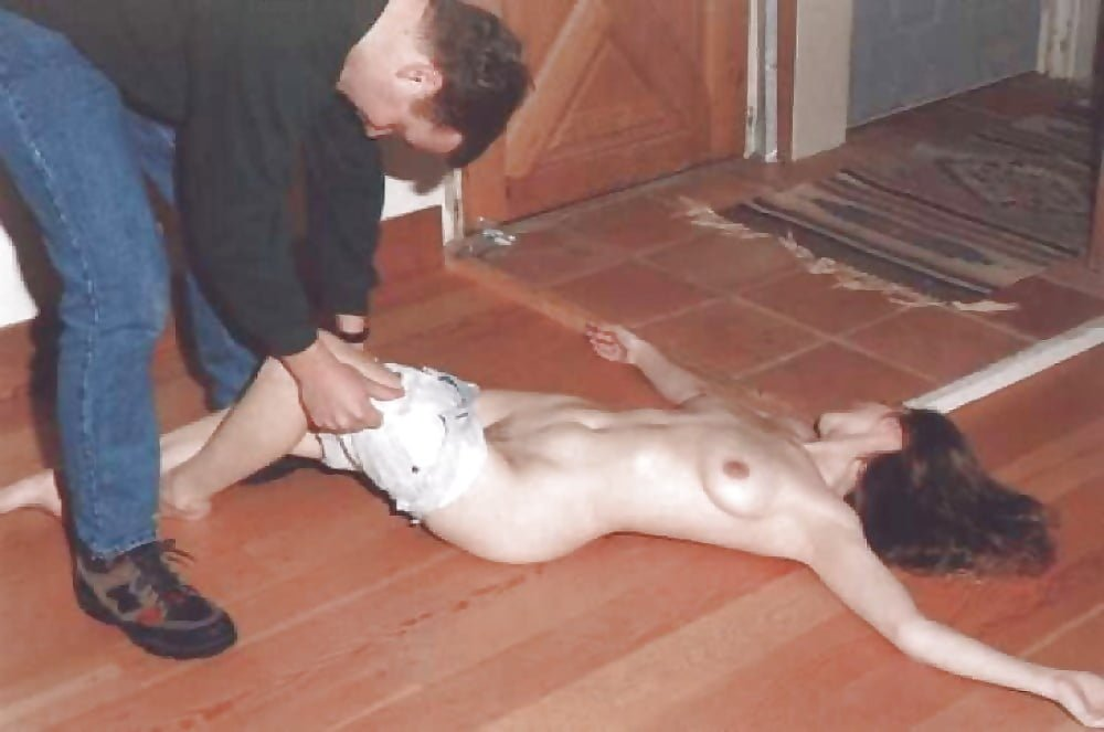 Drunk and abused nude naked