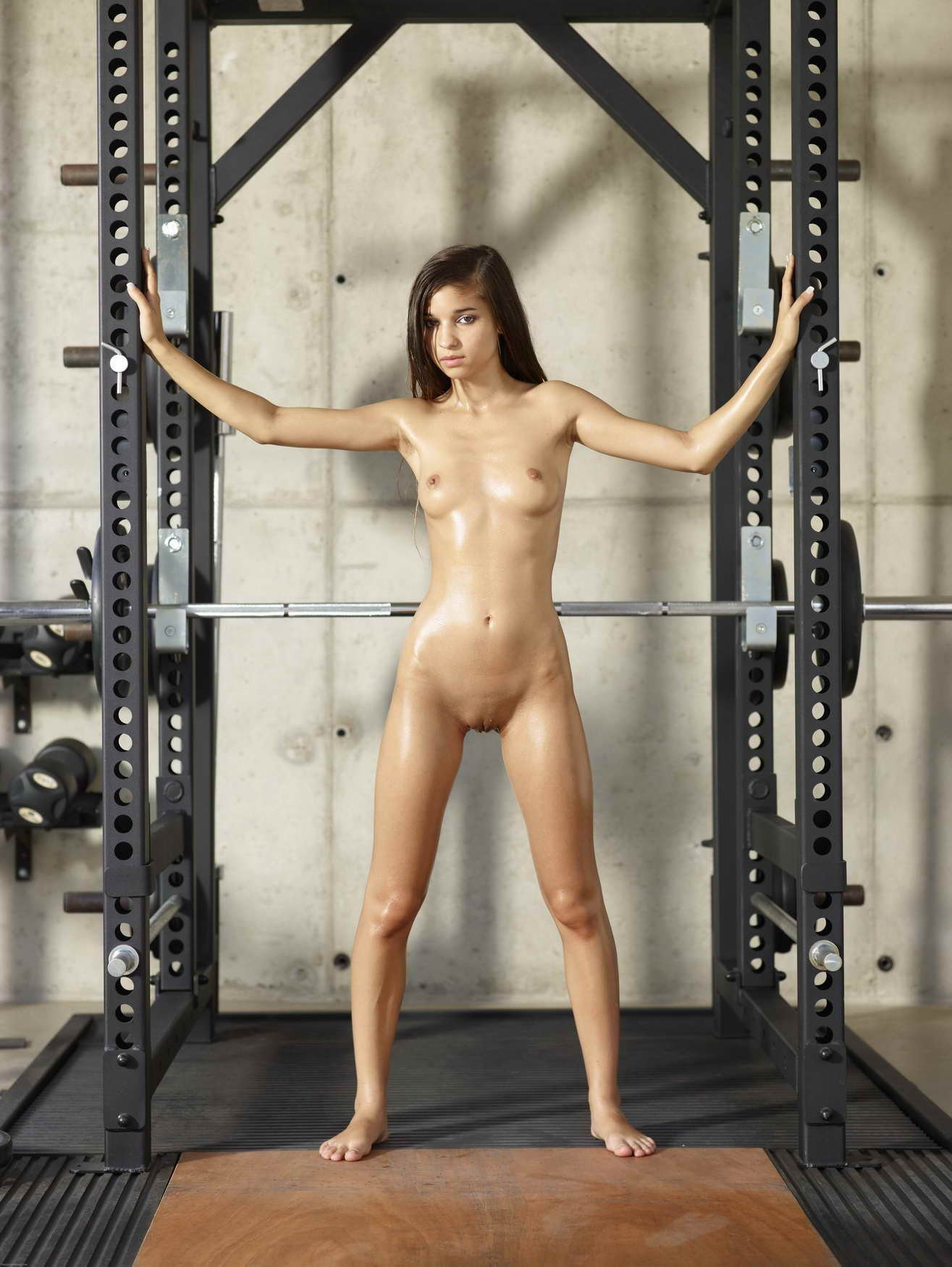 Nude video workout
