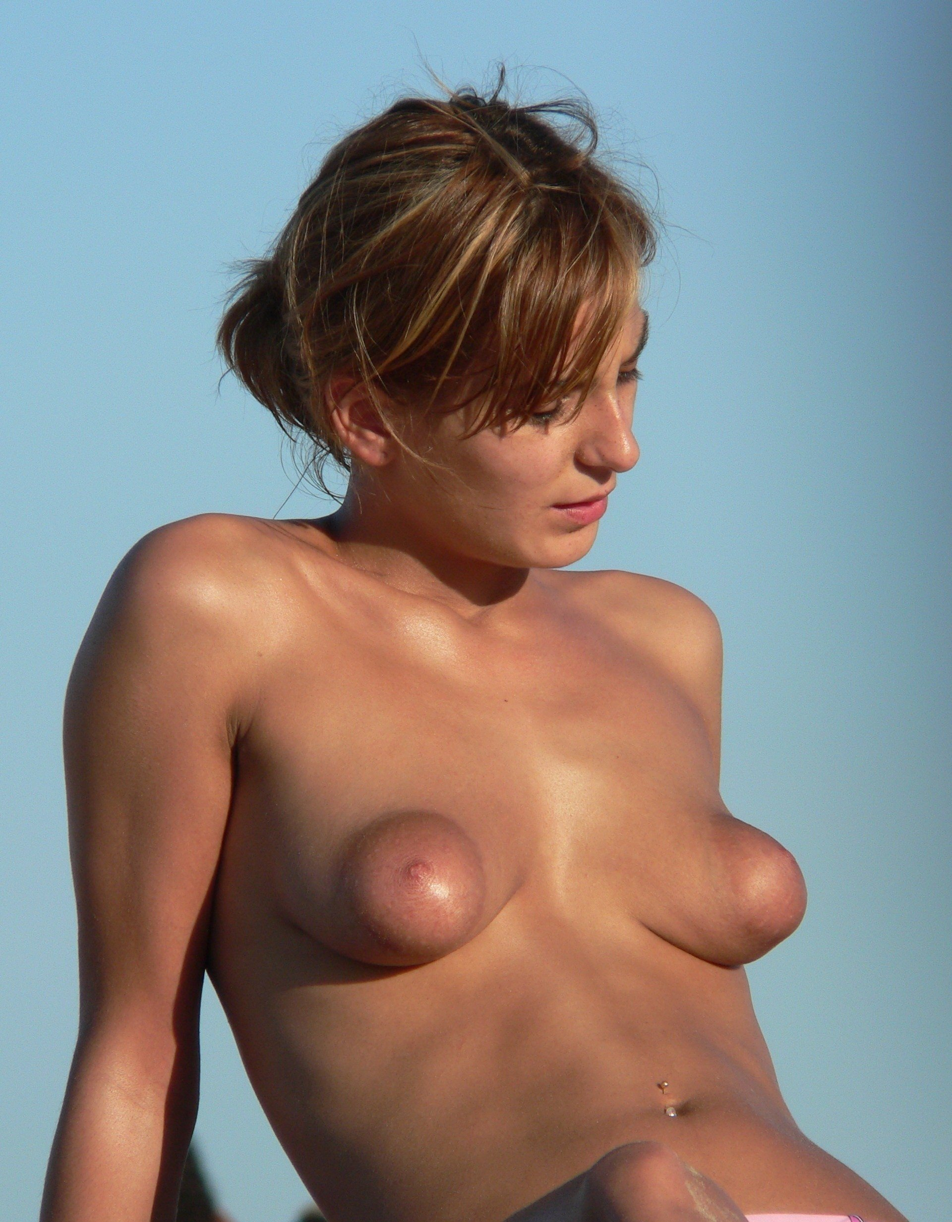 Puffy nipples see through