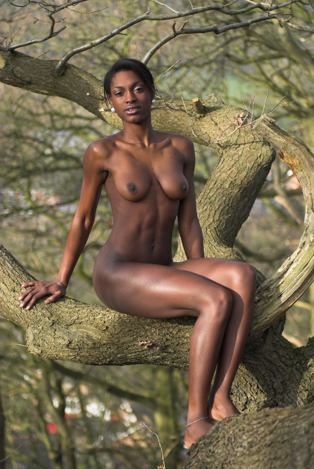 Africa woman naked