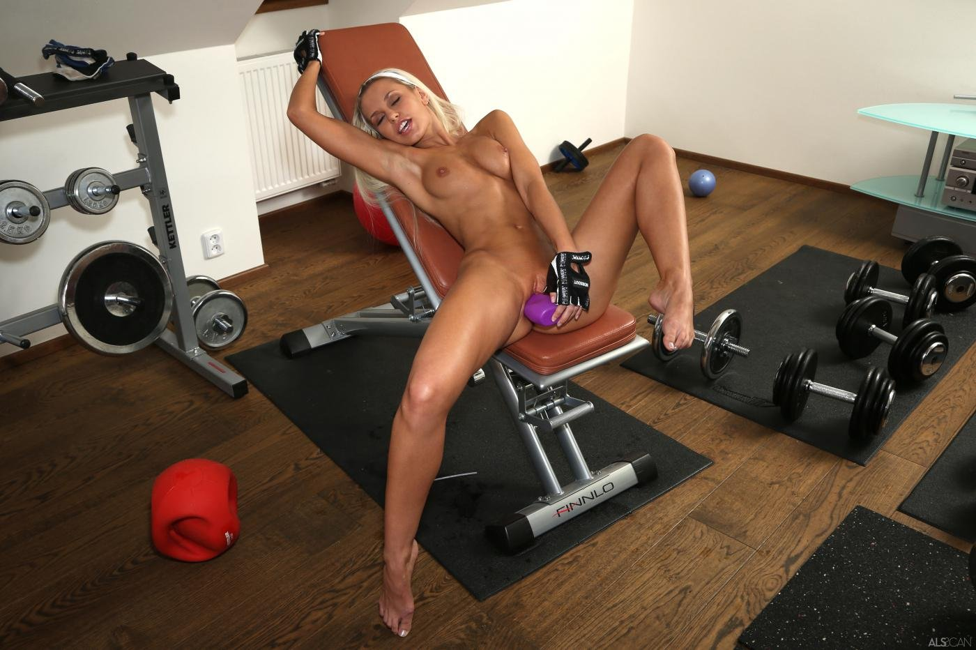 Sexy workout pussy