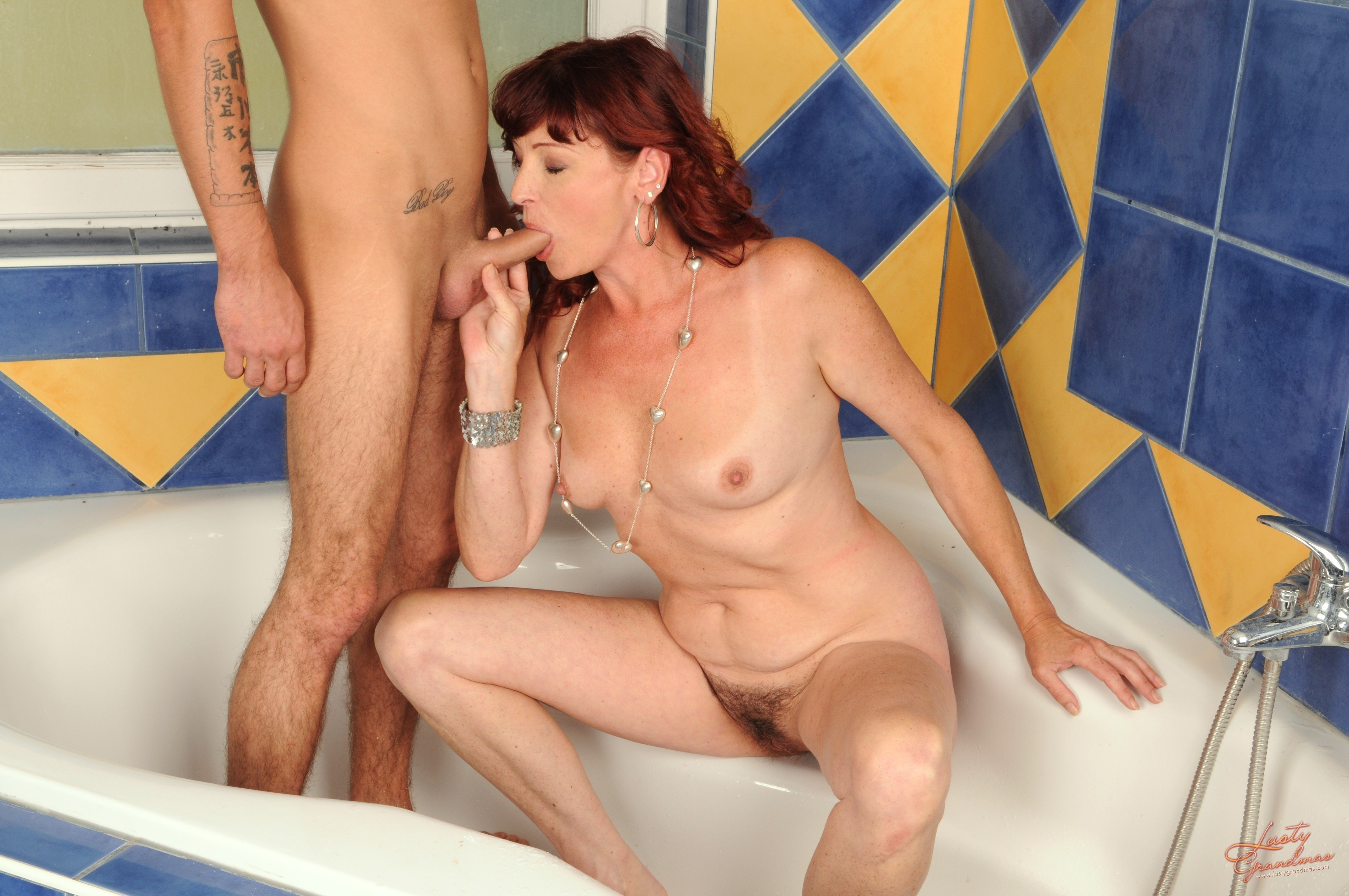 Mother sex with son while husband is shower