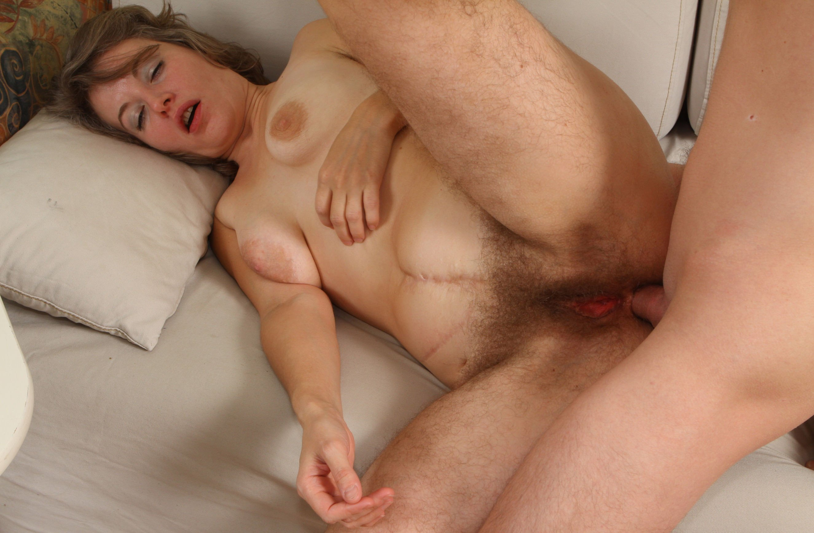 Hair curlers sex mom