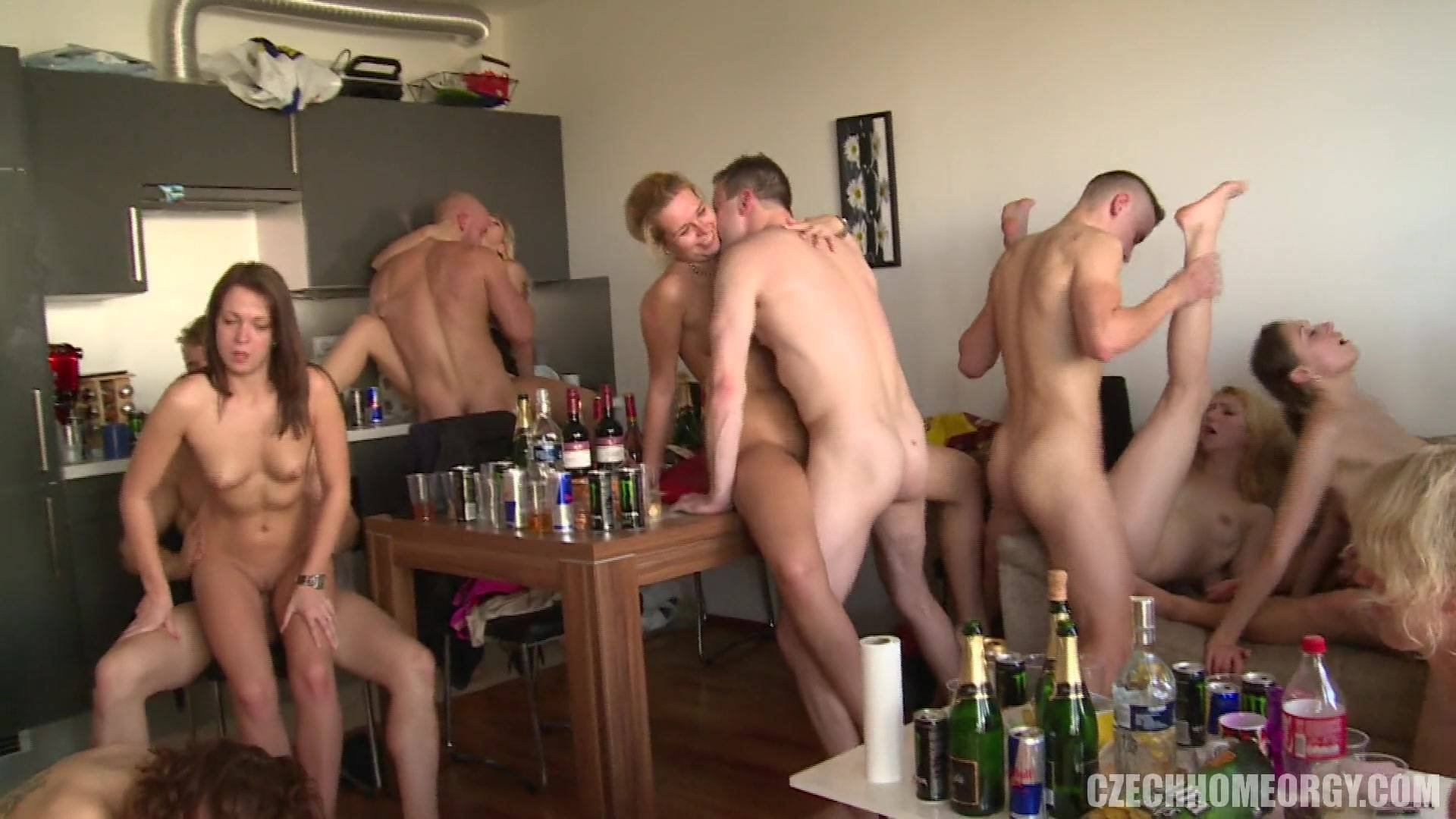 Real Slut Party Orgy In The Hotel Starring Rikki Six And
