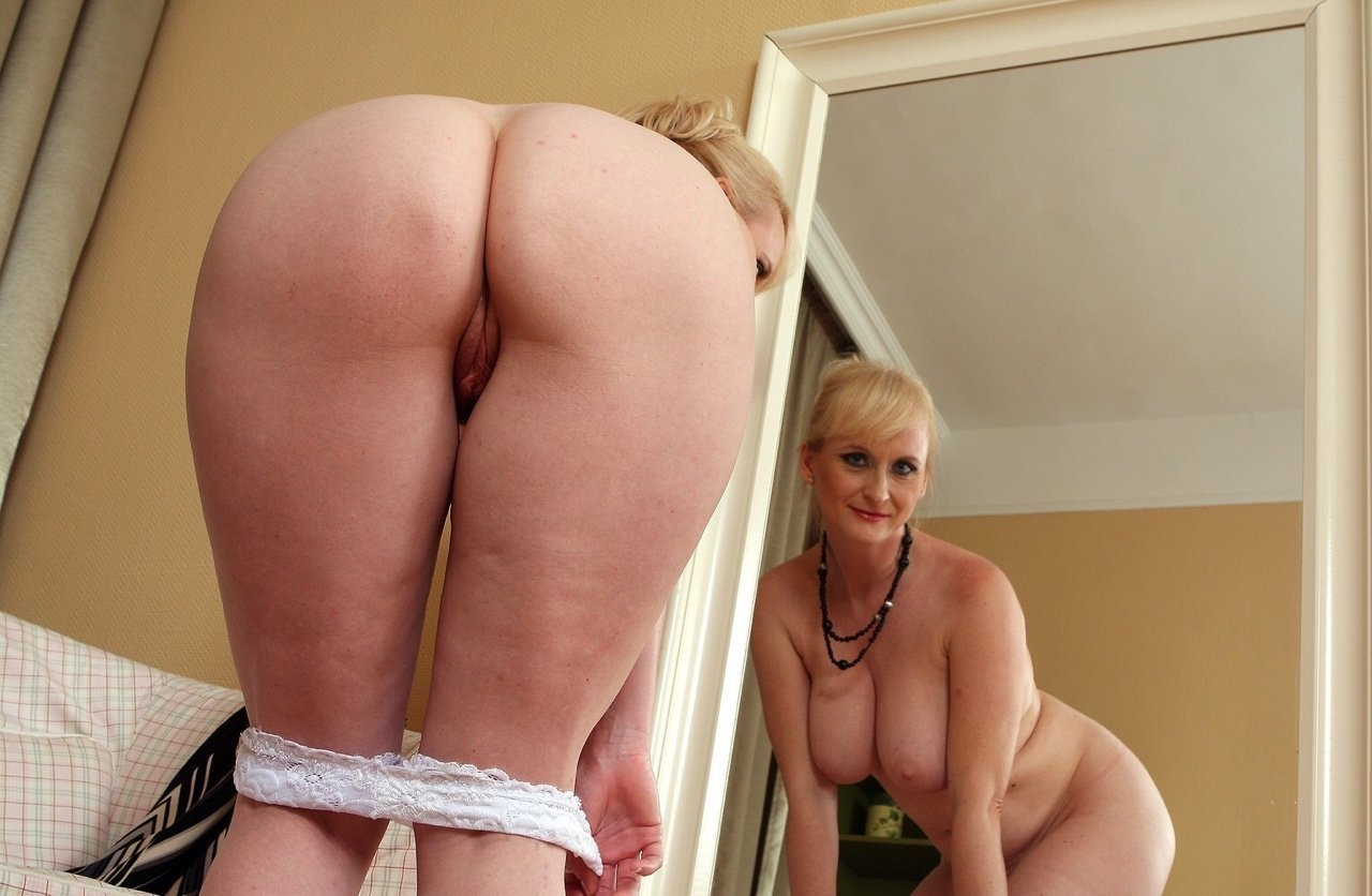 Mature milf rack